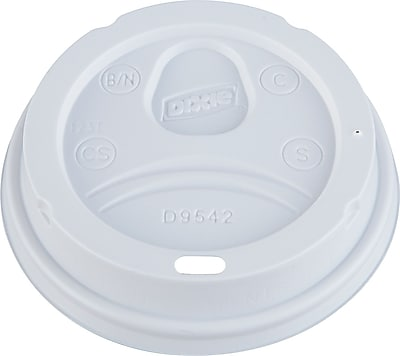 Dixie Dome Drink-Thru Lid, 10 - 16