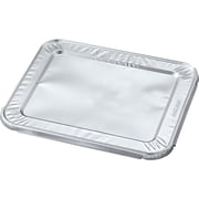"Durable™ Aluminum Steam Table Pan Lid, 10-7/16""W x 12-1/5""D, 100/CT (DPK8500100)"