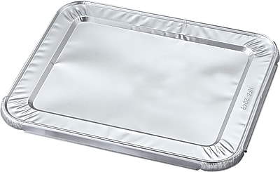Durable™ Aluminum Steam Table Pan Lid, 10-7/16