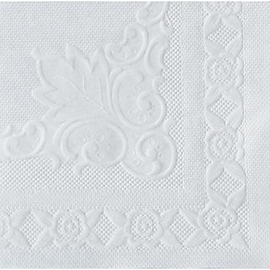 Hoffmaster® 601SE1014 Dubonnet Placemat, White, 10