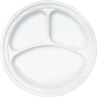 Dart ® 10CPWF Impact Plastic Dinnerware Plate, White, 10 1/4