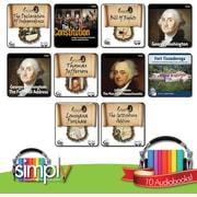 Collection de livres audio American History [Téléchargement]