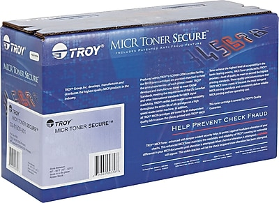 Troy Black Secure MICR Toner Cartridge (02-82000-001)