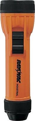 Rayovac® 2D Safety Flashlight, Orange/Black