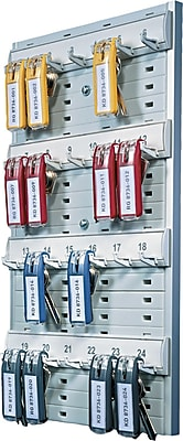 Durable Office Products Key Rack, 14 1/8