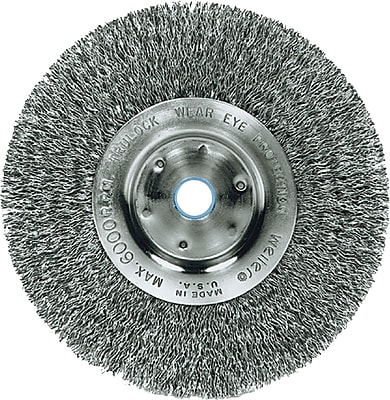 Trulock™ Narrow-face Crimped Wire Wheel, 4
