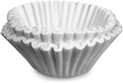 Bunn 1000 Paper Regular Coffee Filter For 12 Cup Commercial Brewers, 1000/Case 150040