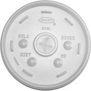"""Dart® 20SL Cold Cup Lid, Translucent, 14 1/2""""(H) x 9""""(W) x 21.8""""(L)"""