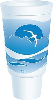 Dart Horizon Flush Fill Foam Cup, Hot/Cold,