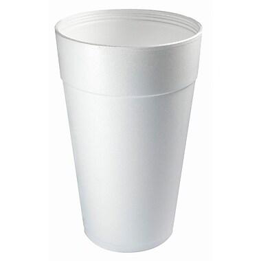 Dart® 44TJ32 Hot/Cold Cup, 44 oz. White, 300/Case