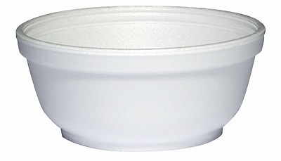 Dart 8B20 Foam Bowl, White, 8 oz., 1000/Case 150105