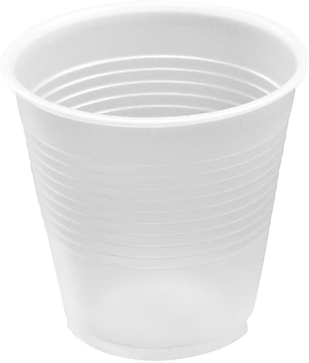 Fabri-Kal® RK Ribbed Cold Drink Cups, 5 Oz, Clear