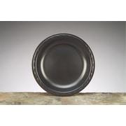 """Elite Laminated Foam Plates, 8.88"""", Black, Round (GNP LAM09-3L)"""