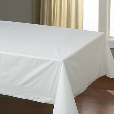 Hoffmaster HFM 210130 Tissue/Poly Table Covers, White