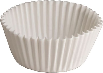 Hoffmaster 610032 Fluted Bake Cup, White 150217