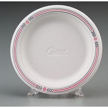 Chinet® Classic White™ POCKET Dinnerware Plate, Molded Fiber, 1000/Carton