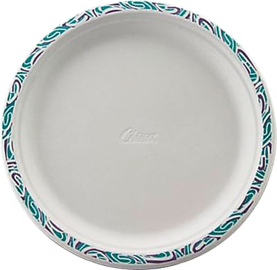 Chinet PORCH Dinnerware Plate, Molded Fiber, 500/Carton