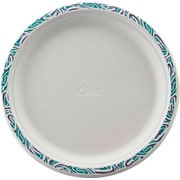 Chinet® PORCH Dinnerware Plate, Molded Fiber, 500/Carton