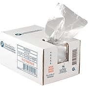 "Inteplast Group PB040208 Food and Utility Poly Bag; 8""(H) x 4""(W) x 2""(D), Clear, 1000/Pack"