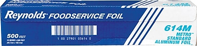 Reynolds Wrap® 614 Metro Aluminum Foil, 18