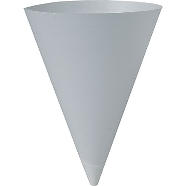 SOLO® Bare® Eco-Forward® 156 Cone Water Cup, White, 7 oz., 5000/Case