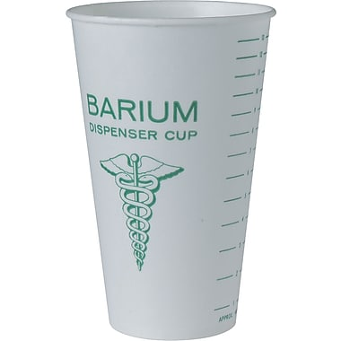 SOLO® RW16 Medical and Dental Cup, 16 oz., White
