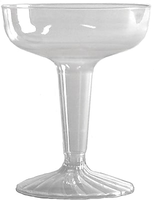 WNA Comet SW4 Champagne Glass, Clear, 4 oz., 500/Case 150352