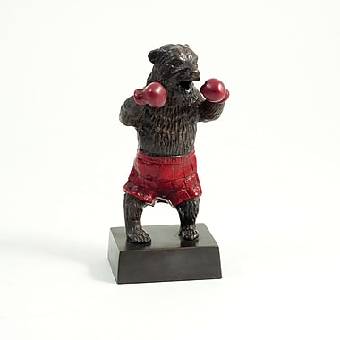 Bey-Berk Boxing Bear Sculpture