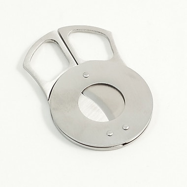 Bey-Berk Stainless Steel Guillotine Cigar Cutter (C112)