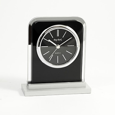 Bey-Berk Lachin Alarm Clock, Glass (CA676)