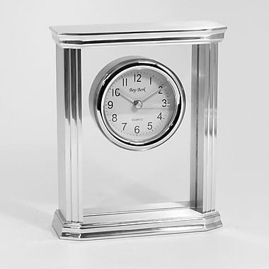 Bey-Berk Porto Metal Clock