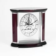 Bey-Berk Rosewood Clock  With Skelton Movement, Luxemburg