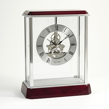 Bey-Berk Rosewood Clock With Skelton Movement, Madrid