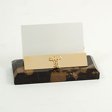 Bey-Berk Gold Plated Business Card Holder, Medical