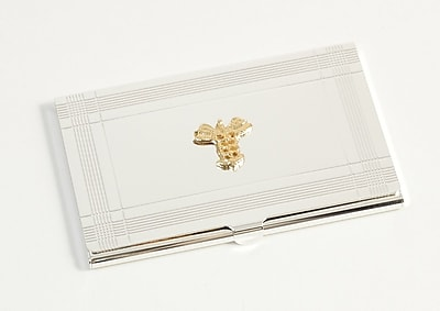Bey-Berk Medical Business Card Case, Silver Plated 155360