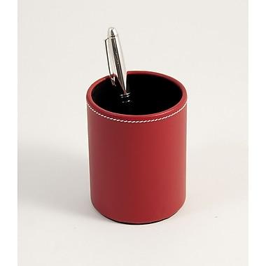 Bey-Berk Leather Pencil Box, Red
