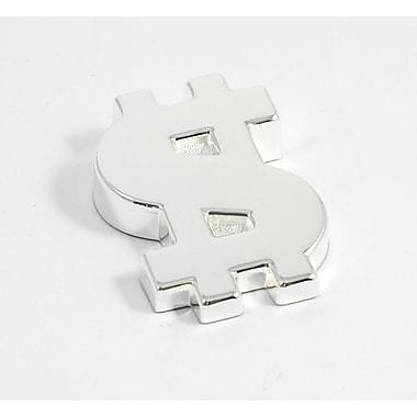 Bey-Berk Silver Plated Paperweight, Dollar