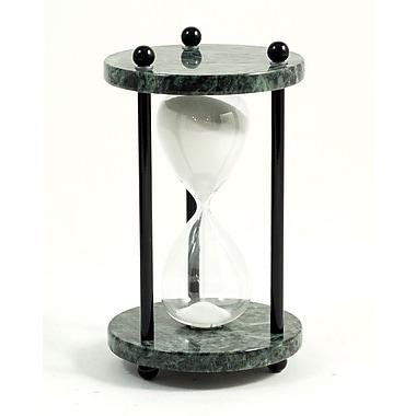 Bey-Berk 4 Minute Green Marble Sand Timer