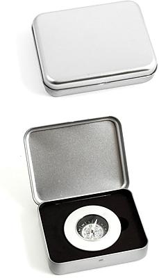 Bey-Berk Compass In a Metal Box