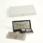 Bey-Berk Vegas Multi Game Set in Stainless Steel Case (G540)