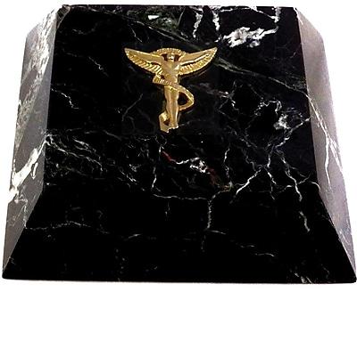 Bey-Berk Marble Paperweight, Chiropractor