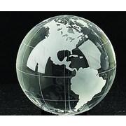 "Bey-Berk R64W 4"" Lead Crystal Globe"
