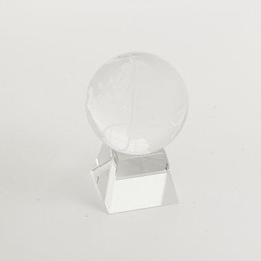 Bey-Berk Glass Globe on Base, 3