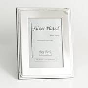 """Bey-Berk SF107-09 Silver Plated Picture Frame, 4"""" x 6"""""""