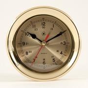 Bey-Berk Brass Clock