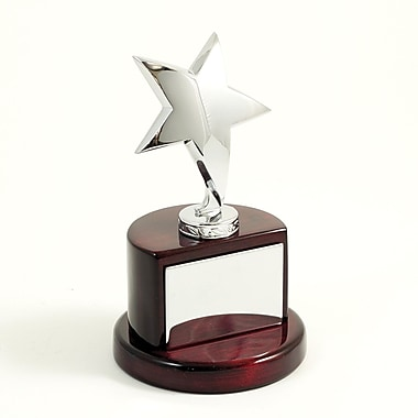 Bey-Berk Silver Plated Star Trophy (T109)