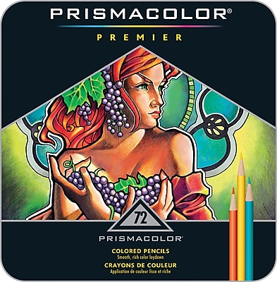 Prismacolor Premier Colored Pencil Set, 72/Pack (3599TN)