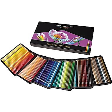 Prismacolor Soft Core Assorted Colored Pencils, 150/Pack (1799879)