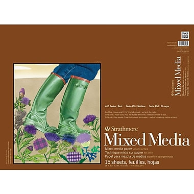 Pro-Art Strathmore Mixed Media Paper Pad 18