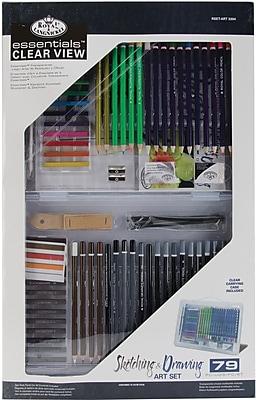 Royal Brush Clearview, Large Drawing/Sketching Art Set